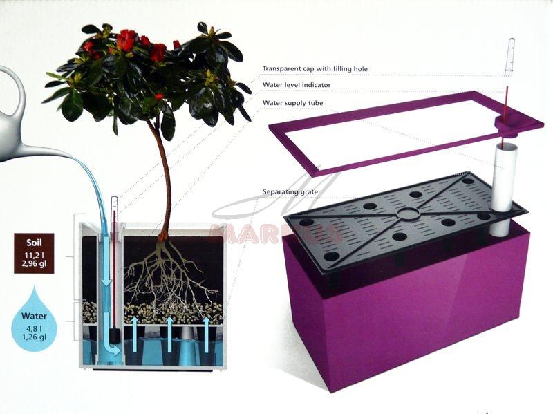 Dm002 Doniczka Flower Lover Cubico Divider Z Systemem