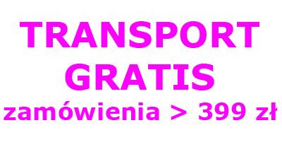 Transport gratis za zamówienia powyżej 399 zł